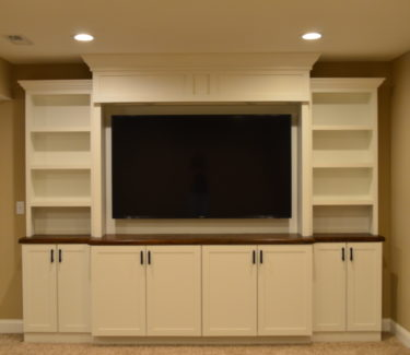 Custom Carpentry Built-In